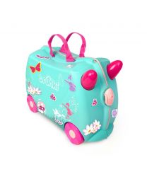 Trunki - Fee Flora - Ride-on und Reisekoffer - Blau