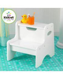 KidKraft - Schritt mit Stauraum - Weiß