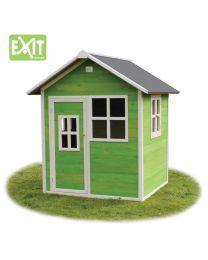 Exit - Loft 100 Grün - Holzspielhaus