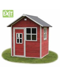 Exit - Loft 100 Rot - Holzspielhaus