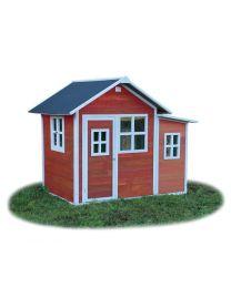 Exit - Loft 150 Rot - Holzspielhaus