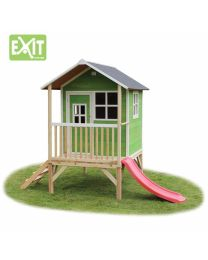 Exit - Loft 300 Grün - Holzspielhaus