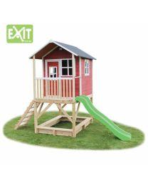 Exit - Loft 500 Rot - Holzspielhaus