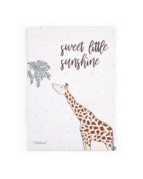Childhome - Ölgemälde Giraffe Kind - 30x40 cm - Für Das Kinderzimmer
