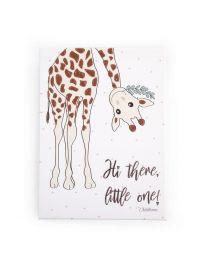 Childhome - Ölgemälde Giraffe Mutter - 30x40 cm - Für Das Kinderzimmer