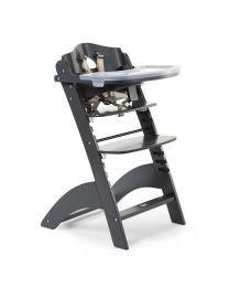 Childhome - Lambda 3 Baby Treppenstuhl und Brett und Abdeckung - Antrazite