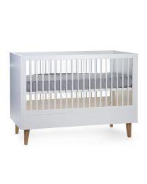 Childhome - Lalande Weiß Babybett 60x120 + Latten