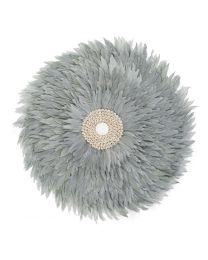 Childhome - Juju Feathers 50 Cm - Hellgrau - Wanddekoration
