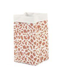 Childhome - Leinwand Box - 32x32x60 cm - Weiss Giraffe