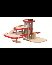 Plan Toys - Garageset 6271 - Holz