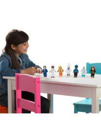 Kidkraft - Puppen Set - Berufe