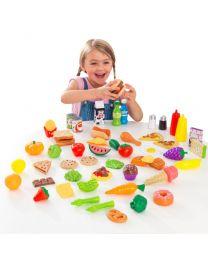 Kidkraft - Spiellebensmittel – 65 Stück