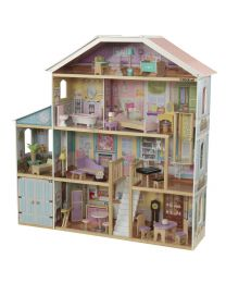 KidKraft - Grand View Mansion Puppenhaus Mit EZ Kraft Assembly™