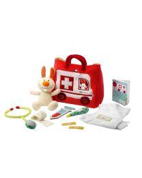 Lilliputiens - Rettungswagentasche Für Den Kleine Doktor - Spielset