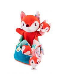 Lilliputiens - Alice, Versteck-Stofftier - Kleinkind-Spielzeug