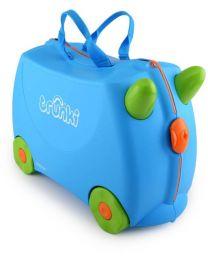 Trunki - Terrance Blau - Ride-on und Reisekoffer