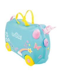 Trunki - Una Unicorn - Ride-on und Reisekoffer - Blau