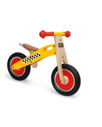 Scratch - Balance Bike S - Taxi - Holz Laufrad