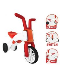 Chillafish - Bunzi Rot - Kunststoff-Laufrad