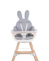 Childhome - Kaninchen Sitzkissen Universell Jersey - Grau
