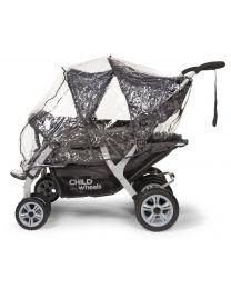 Childhome - Regenschutz Für Mehrlingswagen CWQD