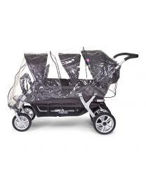 Childhome - Regenschutz Für Mehrlingswagen CWSIX