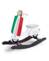 Childhome - Scooter Italy - Hölzernes Schaukelpferd