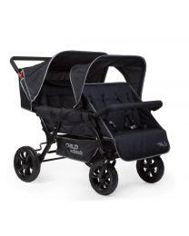 Childhome - Two By Two Merhlingwagen für 4 Kinder