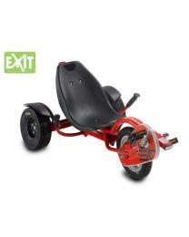 Exit - Dreirad Carver Triker Pro 50 Ferrari Rot - Liegerad