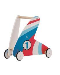 Hape - Step & Stroll - Racing Stripes - Laufauto aus holz