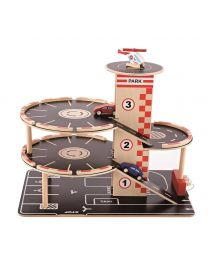 Hape - Park & Go Garage - Spielset aus holz