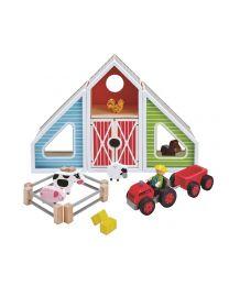 Hape - Barn Play - Spielset aus holz