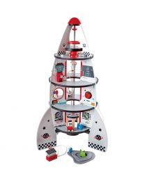Hape - Four-Stage Rocket Ship - Weltraumrakete Spielset