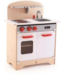 Hape - White Gourmet Kitchen - Kinderküche aus holz