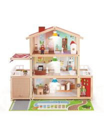 Hape - Doll Family Mansion - Hölzernes Puppenhaus