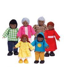 Hape - Puppen (Afroamerikaner) - Für Puppenhaus