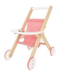 Hape - Stroller - Hölzerner Puppenwagenbuggy
