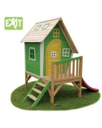 Exit - Fantasia 300 Grün - Holzspielhaus