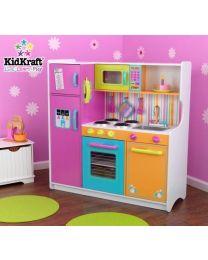 Kidkraft - Große Helle Kinderküche Deluxe