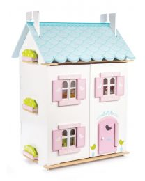 Le Toy Van - Blue Bird Cottage - Puppenhaus aus holz