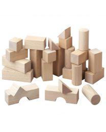 Haba - Bauklötze Basispaket - Holz