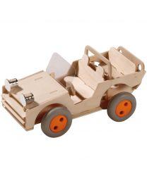 Haba - Baupaket Geländewagen - Holz