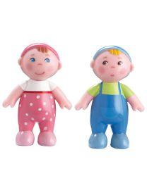 Haba - Little Friends - Puppenhauspuppen Babys Marie Und Max