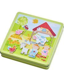 Haba - Magnetspiel-Box Peters Bauernhof