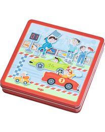 Haba - Magnetspiel-Box Flotte Flitzer