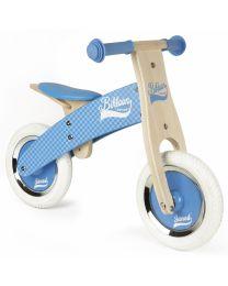Janod - Little Bikloon Blau - Holz Laufrad