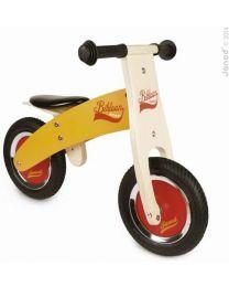 Janod - Little Bikloon Orange - Holz Laufrad
