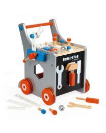 Janod - Magnetischer Werkbank-Wagen Brico'Kids