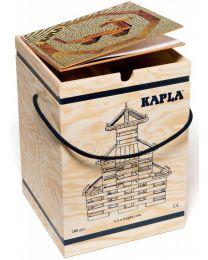 Kapla - Bausteine - 280 Stück + Buch Beige