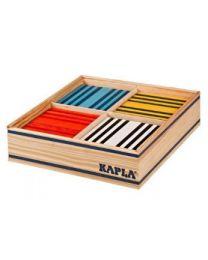 Kapla - Bausteine - 100 Stück - 8 Farben